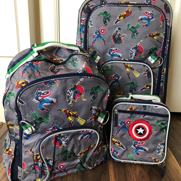 Pottery Barn Kids Other Pottery Barn Marvel Luggage
